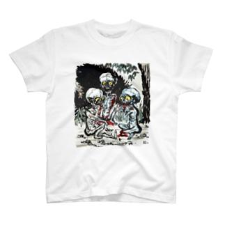 餓鬼 T-shirts