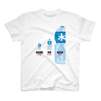 waterPrice = 98; T-shirts