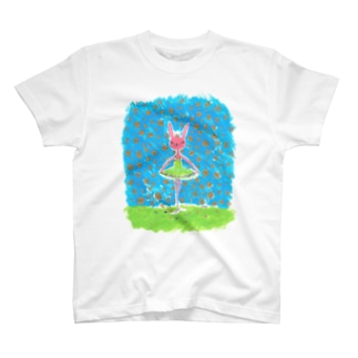 バレリーナのうさこちゃん T-shirts