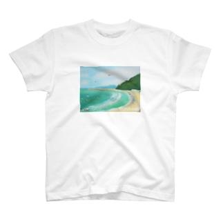 波待ち T-shirts