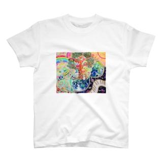地球のたねたまご T-shirts