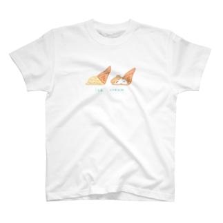 ハムスクリーム T-shirts