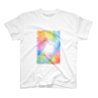 虹色空間 T-shirts