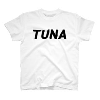 92TUNA-BLACK T-shirts