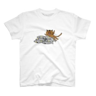 大漁猫 T-shirts