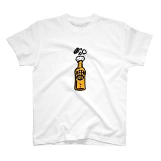 ILOVEBEER-ビール瓶-お酒好きに T-shirts