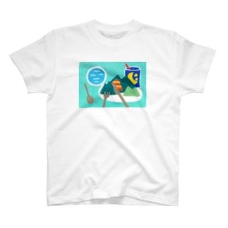 マウンテン T-shirts