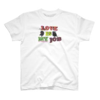 LOVE Tシャツ(淡色用)2021 WORLD TOUR〜 LOVE is my Job. T-shirts