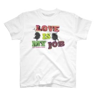 2021 WORLD TOUR〜 LOVE is my Job.  T-shirts