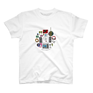 ミュージックなハグキマル Tシャツ