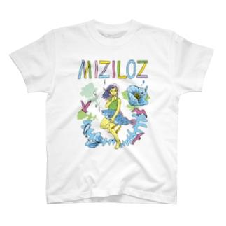 MIZILOZ《ミズイロズ》 T-shirts