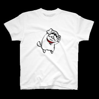 one-naacoのパグTシャツ T-shirts