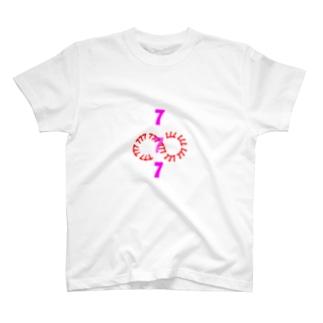 777 スリーセブン  T-shirts