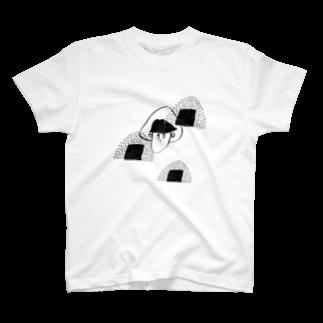 BURE-BUREの塩むすび T-shirts