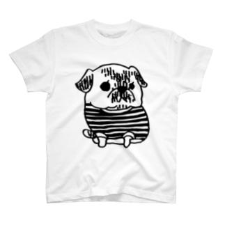 パグのPecoちゃん T-shirts