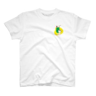 クリームソーダ(ワンポイント) T-shirts