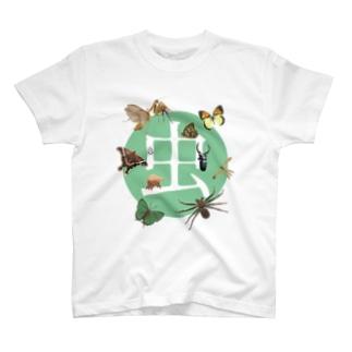 Gallery Art MorimotoのINSECTS オリジナルTシャツ T-shirts