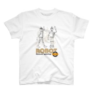ロボット T-shirts