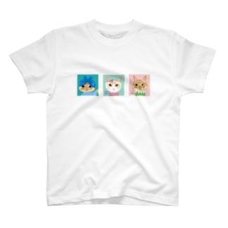 モコとギー T-shirts