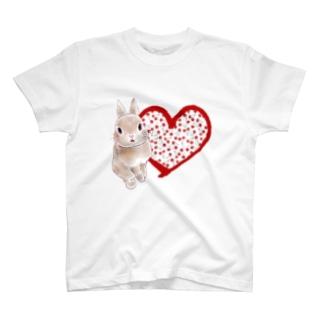 クレアとさくらんぼ(ハート) T-shirts