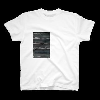 7_の木目調 T-shirts