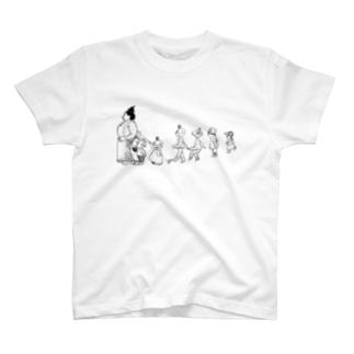 大家族 T-shirts