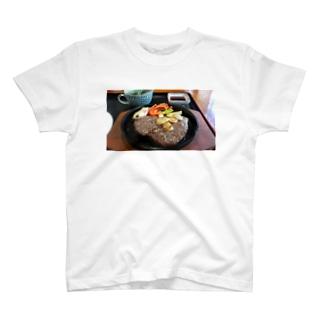 馬肉のステーキ T-shirts