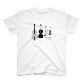 Quartetto 弦楽器 T-shirts