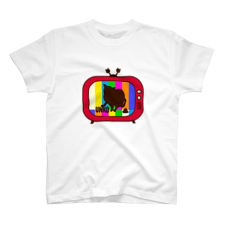 UNKO TV レッド T-shirts