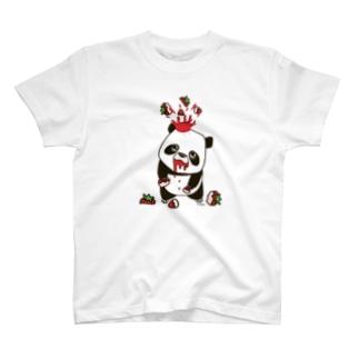 ムライアナザーワールドのストロベリーパンダ2 T-shirts