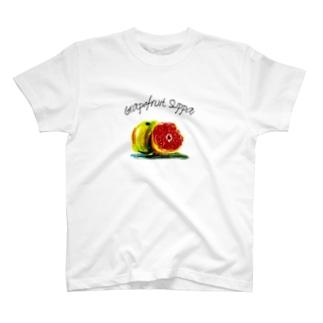 グレープフルーツスッぱい T-Shirt