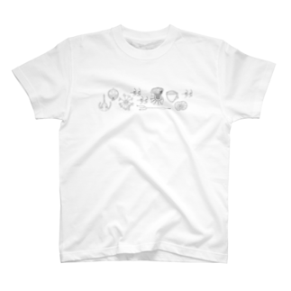 まりこの【渦鞭毛藻シリーズ】いろいろ T-shirts