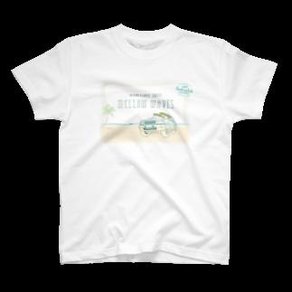Funkastok'sのMELLOW WAVES T-shirts