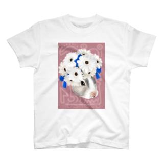 兎と花冠 T-shirts