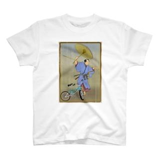 """""""bmx samurai"""" #1 T-shirts"""