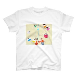 観覧車 クレヨン T-shirts