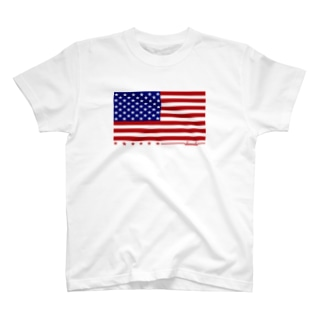 dacci 星条旗(カラー) T-shirts