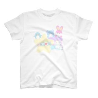 pirokoさんコラボ柄 T-shirts