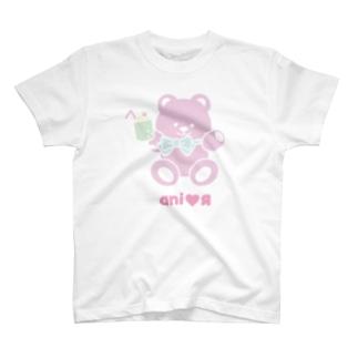 クリームソーダロゴあり T-shirts