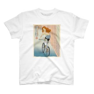 """""""双輪車娘之圖會"""" 4-#1 T-shirts"""