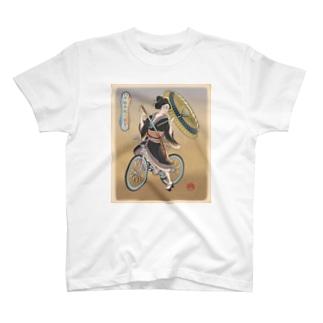 """""""双輪車娘之圖會"""" 5-#1 T-shirts"""