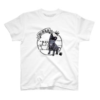 こたろうファーム リアルロゴ T-shirts