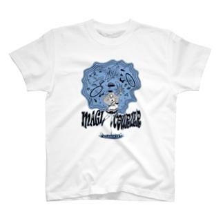 """MAGI COURIER"" blue #1 T-Shirt"