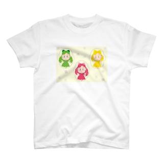 きらりんこ3姉妹 なわとび T-shirts