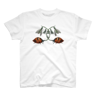 スズランテントウフィンチ入り2 T-shirts
