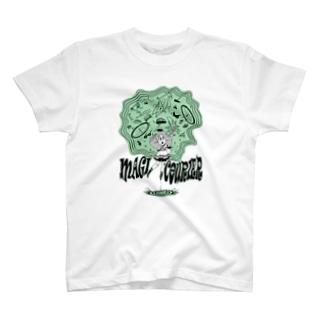 """MAGI COURIER"" green #1 T-Shirt"