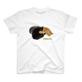 3猫団子 T-shirts
