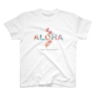 ALOHA * プルメリア T-shirts