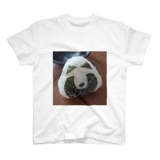 たぬきおにぎり T-shirts