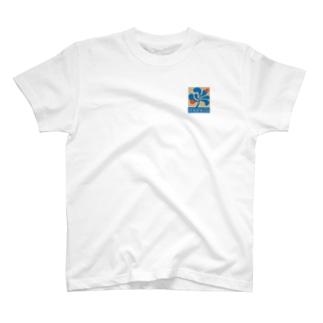 manu'a BOX W/SIDE logo  T-Shirt
